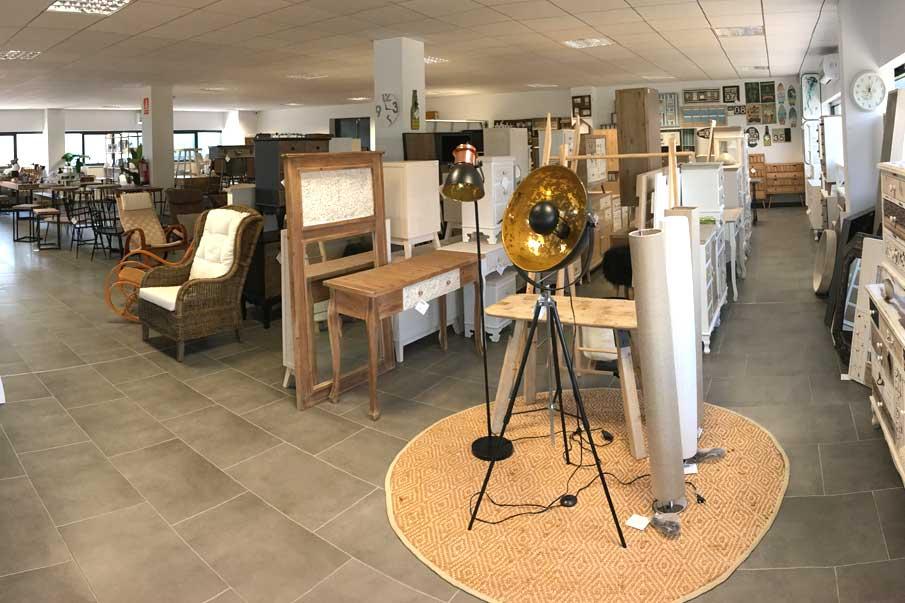 Exposición muebles Gabar