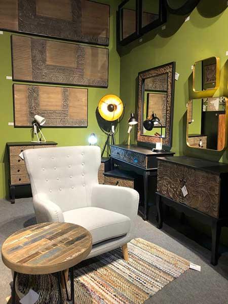 Feria Habitat, mobiliario industrial, decape, muebles nordicos y vintage