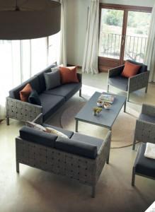 Conjunto de sofás y sillones, catalogo out Gabar