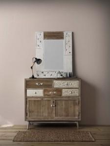 Espejo y escritorio, catálogo deco Gabar