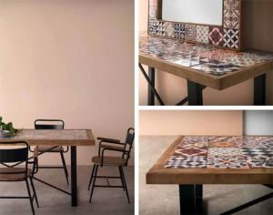 Mesas mosaico hidraúlico