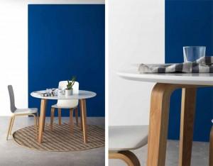 Mesa y silla nórdica